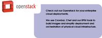 New OpenStack/Chef Recipes